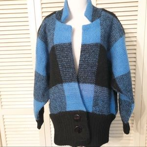 I.B. Diffusion | Vintage 80s Mohair Blend Cardigan